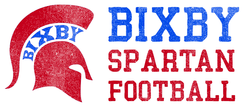 Bixby Spartan Football Logo